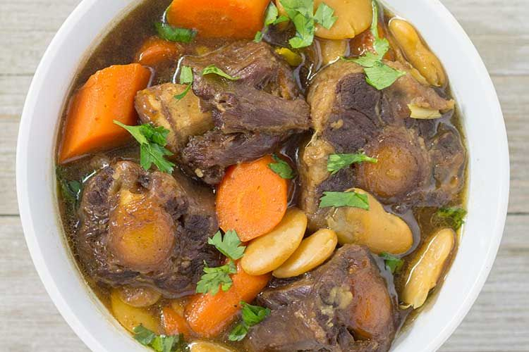 pressure cooker jamaican oxtail stew  recipe  instant