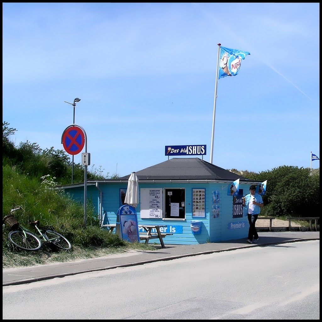 det blå ishus åbningstider