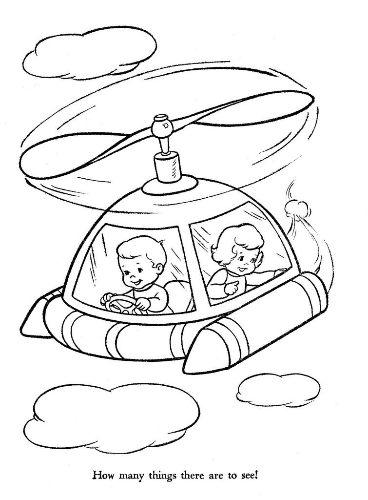 Hi-Flyer Color pg 5   Kenosha wisconsin, Coloring books and Embroidery