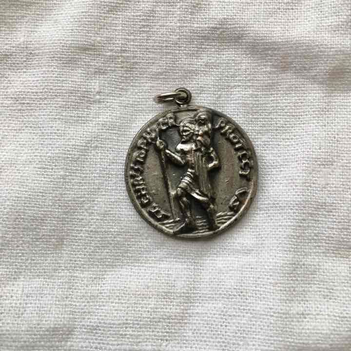 St Christopher Protect Us Medal - Mercari: Anyone can buy & sell
