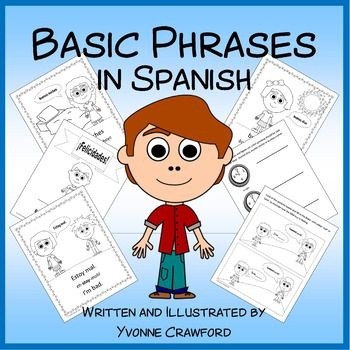 Basic Phrases Activities in Spanish