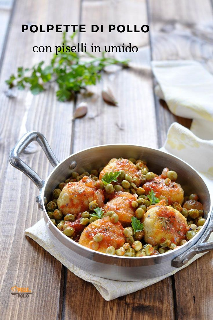 Photo of Chicken meatballs with stewed peas