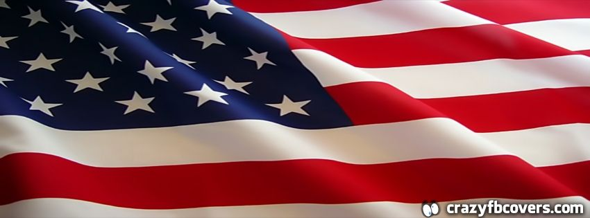 American Flag Facebook Cover - Facebook Timeline Cover Photo