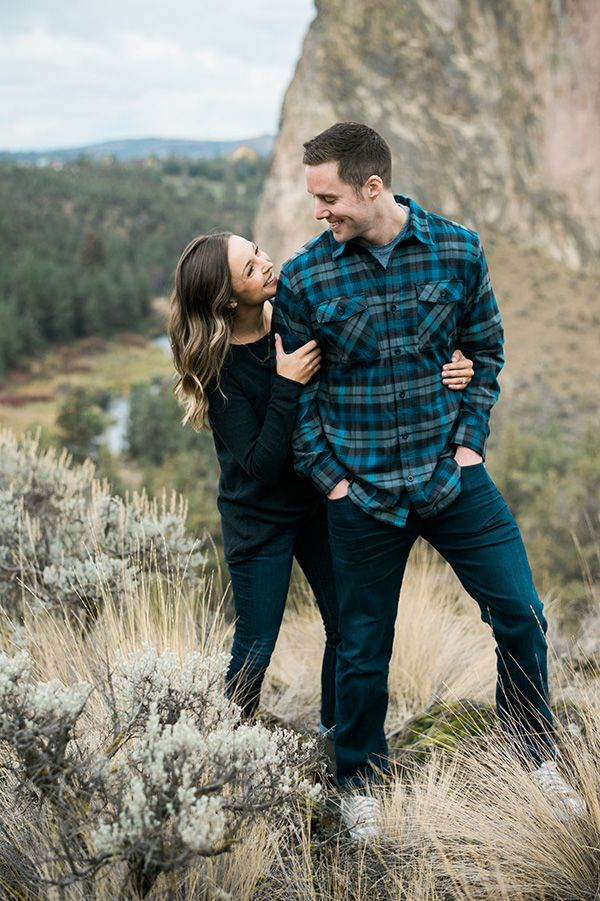 {Tia + Jimmy} Engagement Session Smith Rock Central Oregon | Central Oregon Wedding Photographer Kimberly Kay Photography