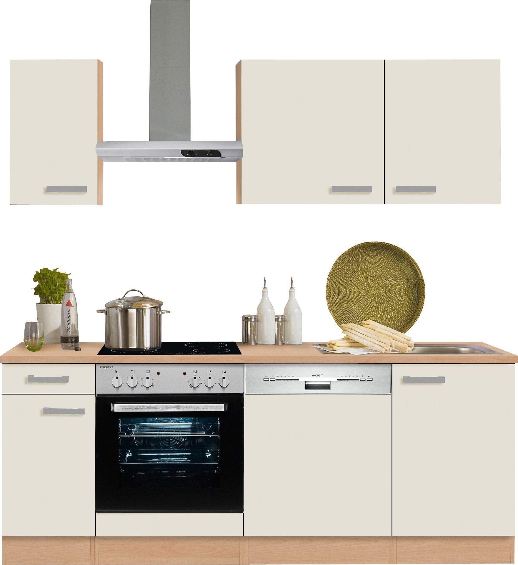 OPTIFIT Küchenzeile ohne E-Geräte beige, »Odense« Jetzt bestellen ...