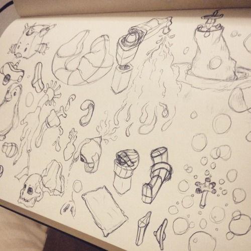 #art #drawing #sketch #doodle #dailysketch #dailydoodle #moleskine #pen #random #shapes