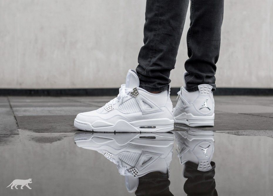 b7220445a49f Air Jordan 4 Retro « Pure Money » Available Tomorrow Via   - Asphaltgold -  Nike Store - Sneakersnstuff