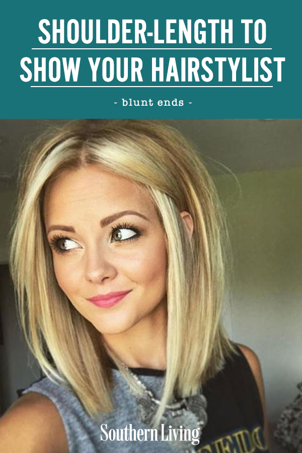 Shoulder-Length Haircuts To Show Your Hairstylist
