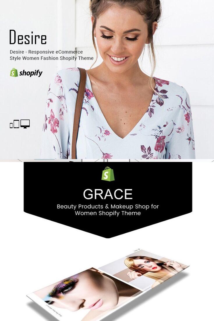 Desire Fashion Shopify Theme Custom site, Shopify theme