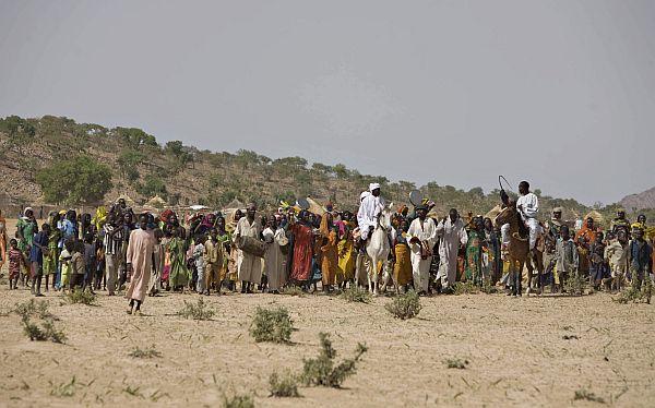 Beduinos en Namibia.