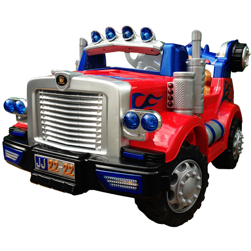 optimus prime transformers style kids 12v truck 21995 kids electric cars little