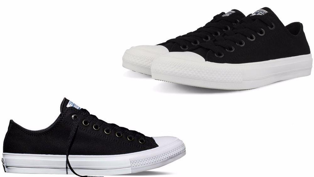 Converse MEN'S CHUCK TAYLOR II OX LOW TOP 150149C Black