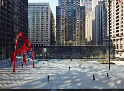 Chicago Federal Center 1964|Mies van der Rohe 建築, ミース