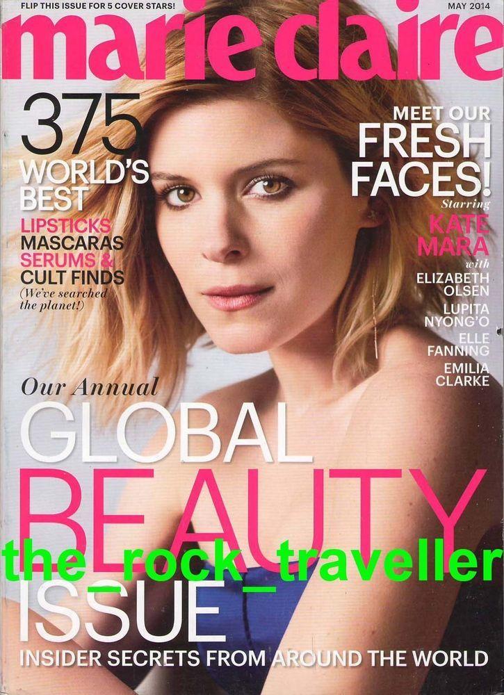 May 2014 cover with Kate Mara