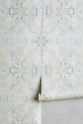 Inner Beauty Wallpaper by Candice Olson in Mint, Wall