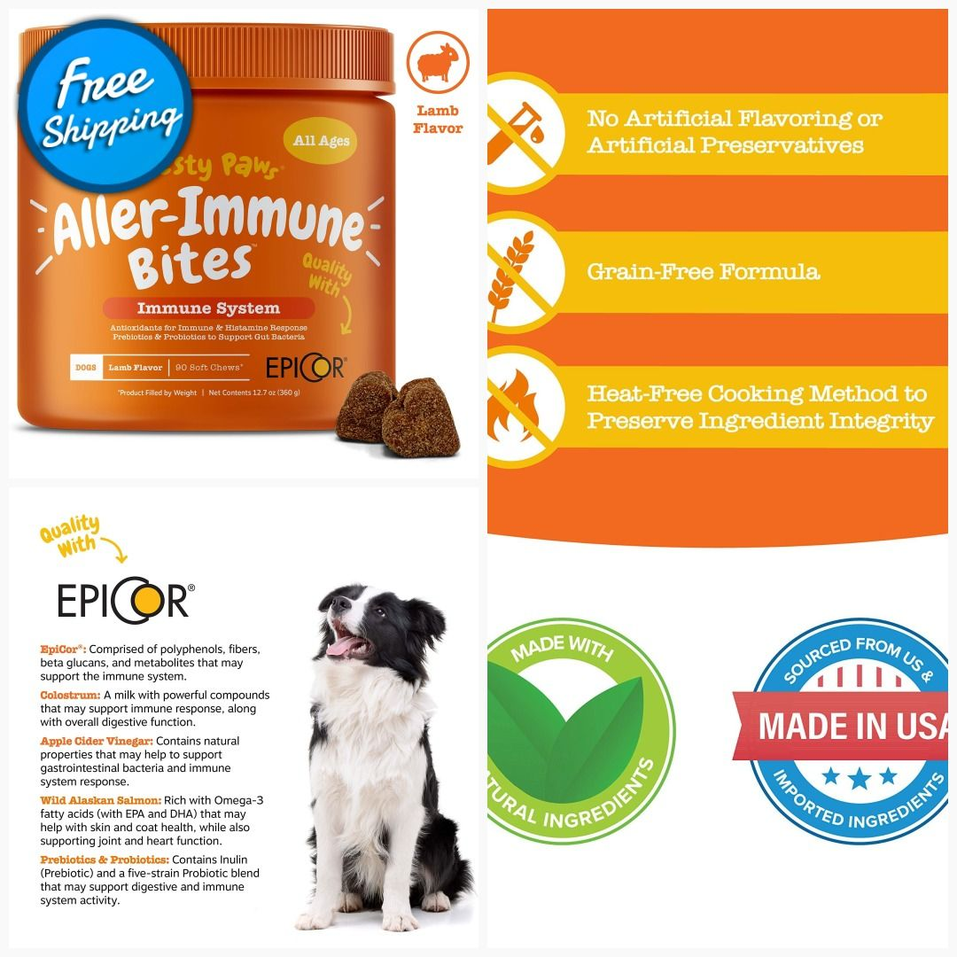 lamb dog food for allergies