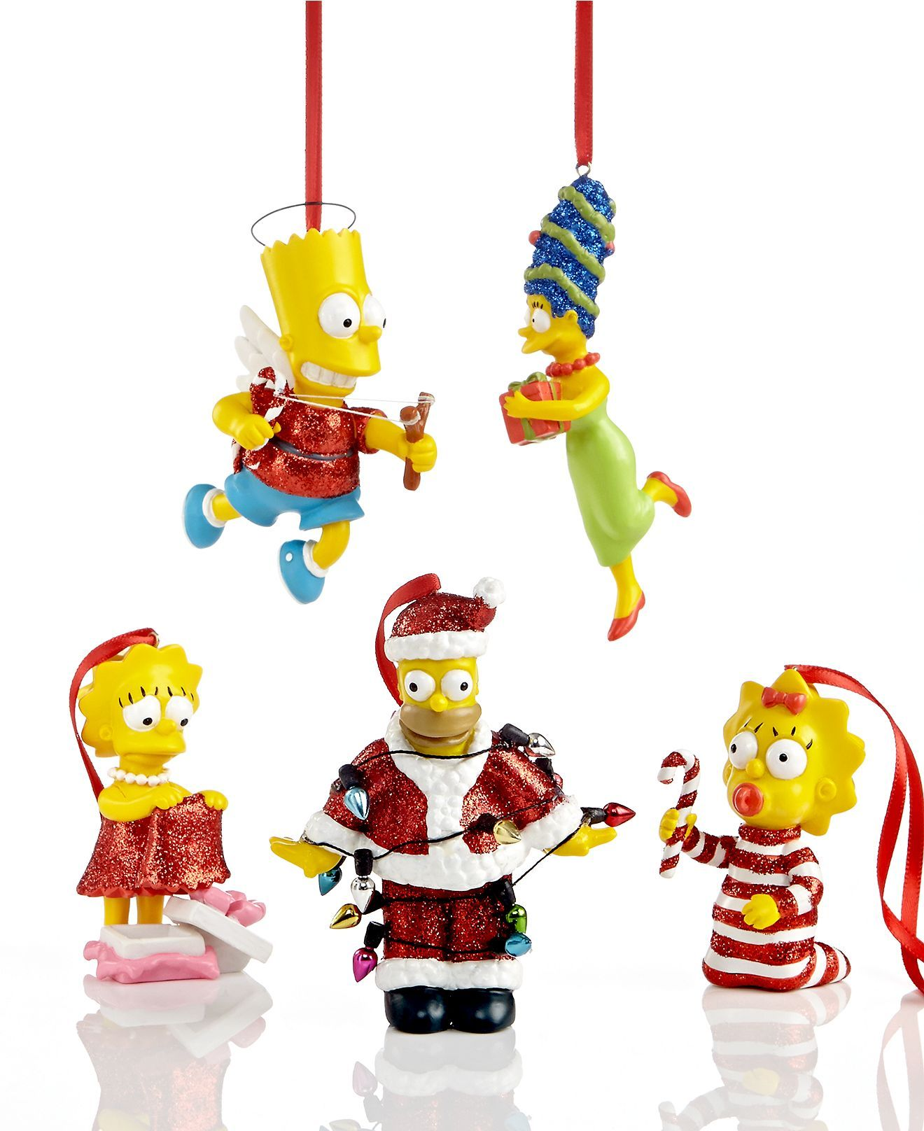 department 56 christmas ornaments simpsons collection holiday lane macys