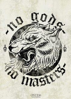 cdf699f1b9554 No Gods No Masters Tattoo No gods no mas... no gods no masters tattoo