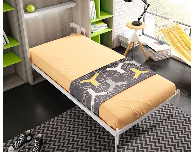 Wall beds ecuador camas ingeniosas para espacios - Camas para espacios pequenos ...