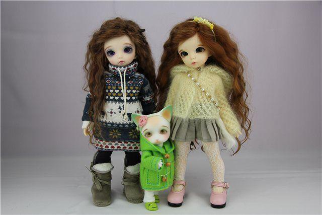 Мои звездочки: девочки Littlefee и Momocolor / BJD - шарнирные куклы БЖД / Бэйбики. Куклы фото. Одежда для кукол