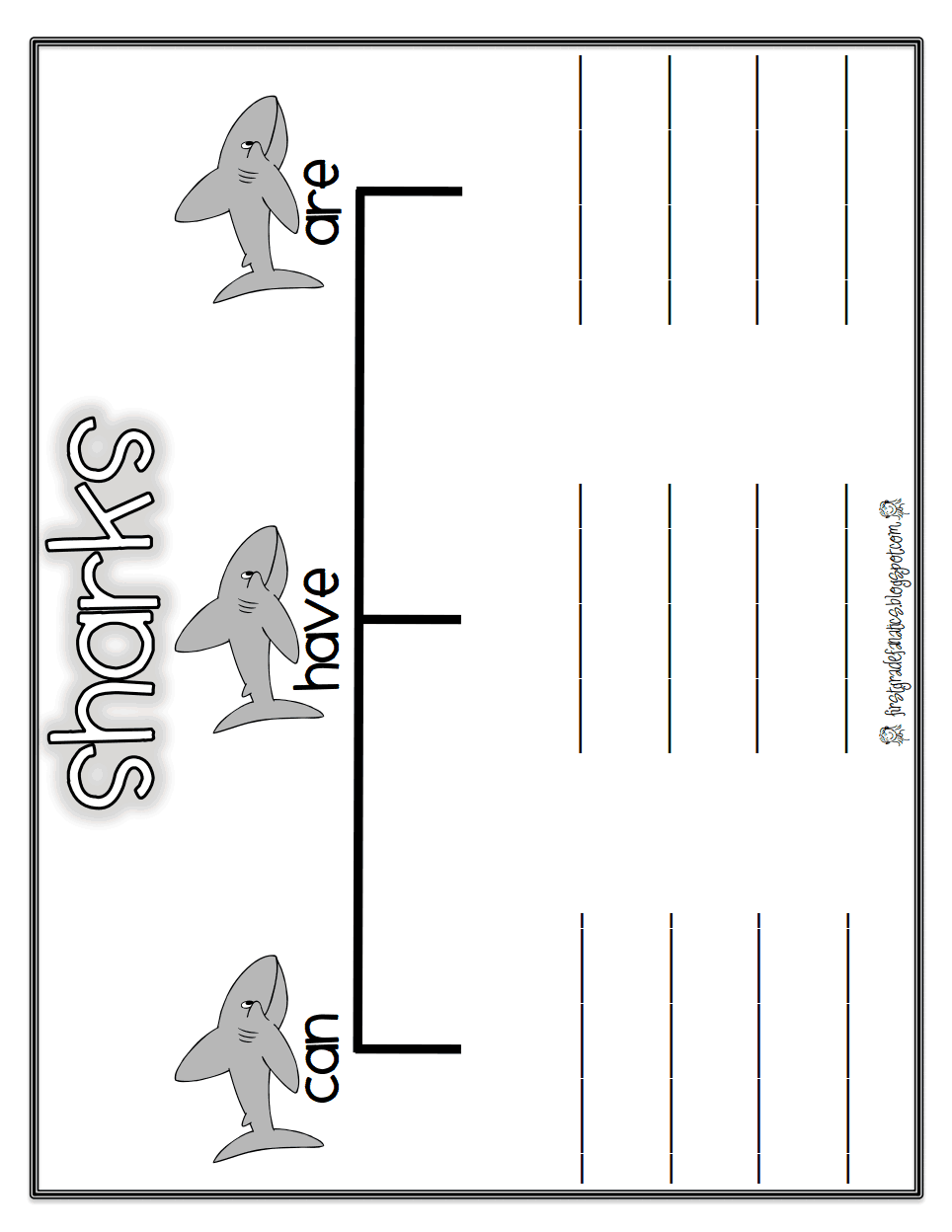 Grade 2 Worksheet Pdf Shark Reportpdf  Worksheet  Pinterest  Teaching Science And  Business Budget Worksheet Excel with Plant Dichotomous Key Worksheet Pdf Worksheets  Shark Reportpdf Ue Words Phonics Worksheets Word