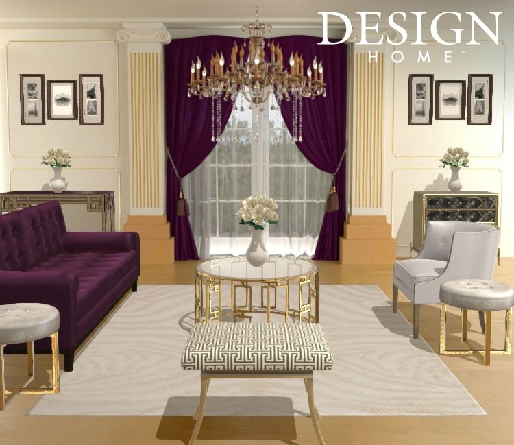 Super lux living room by tiffani valencia