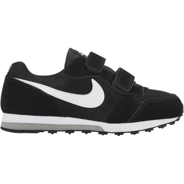 Photo of NIKE Md Runner 2 Sneakers – Kids Boys – Black and White