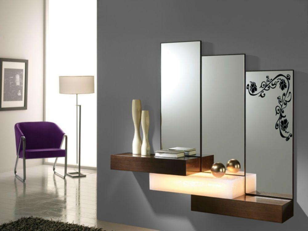 Como decorar tu recibidor | leonor | Pinterest | Recibidor, Espejo y ...