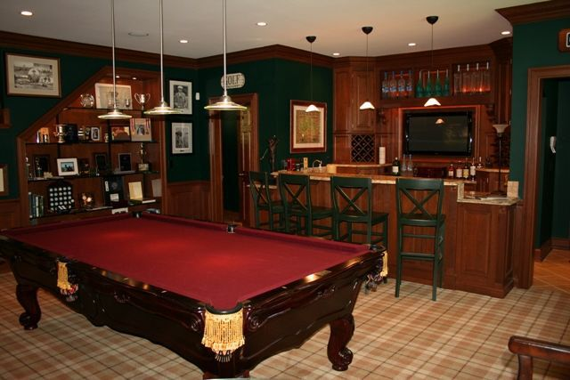 Man Cave With Pool : Man cave this would probably be more like it def have to a