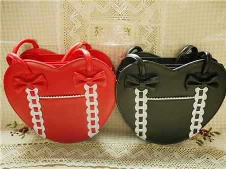 d89658dec7 Loris Japanese Fashion Heart Shape Handbag  34.99-Girls Pretty Bags - My  Lolita Dress