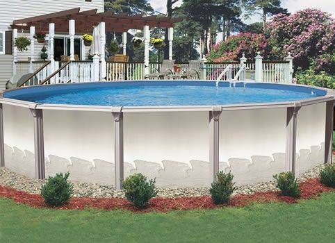 landscaping for above ground pool   above ground pool landscaping photo » above ground pool designs ...