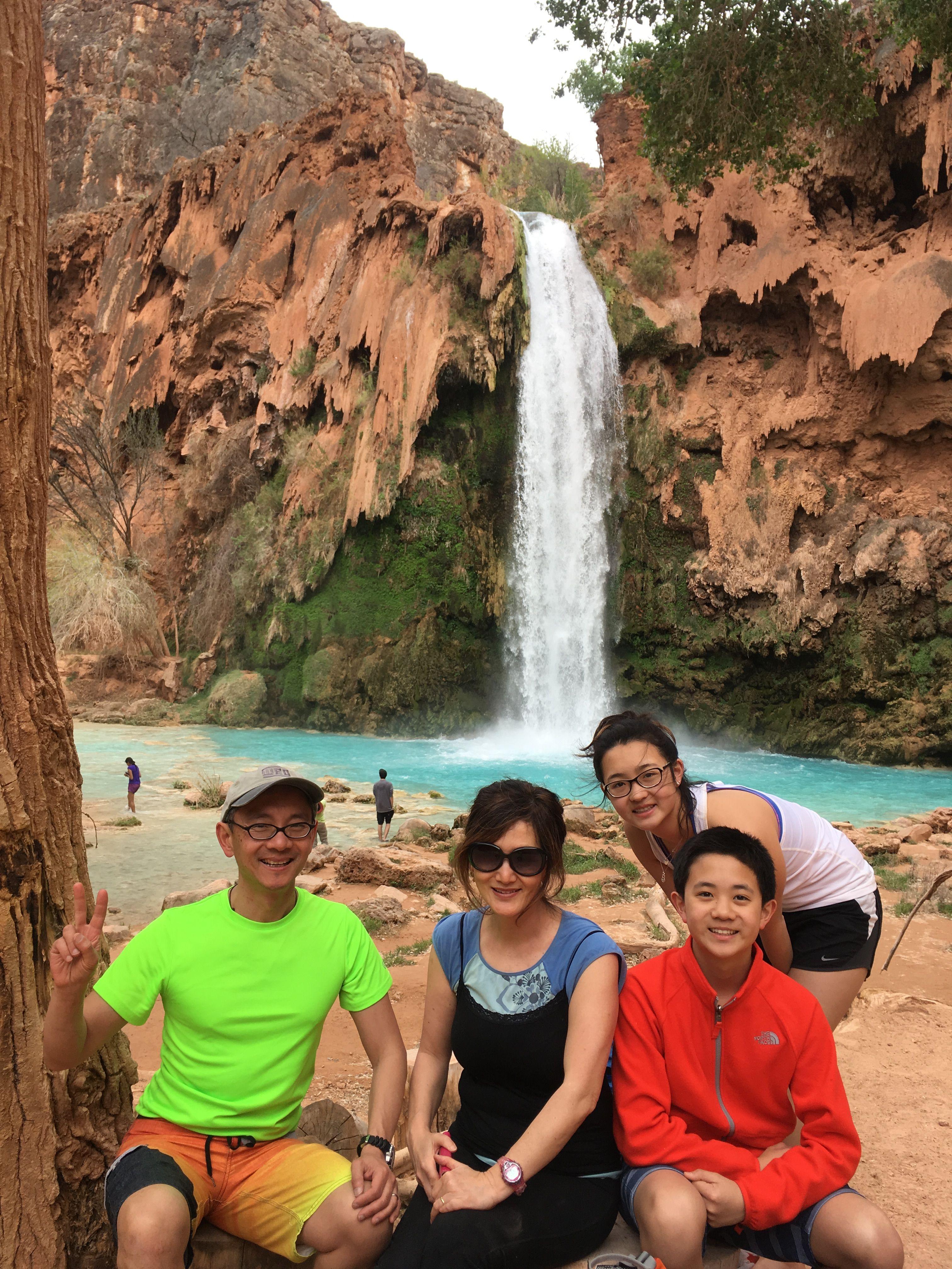 Havasu Falls With The Wong S
