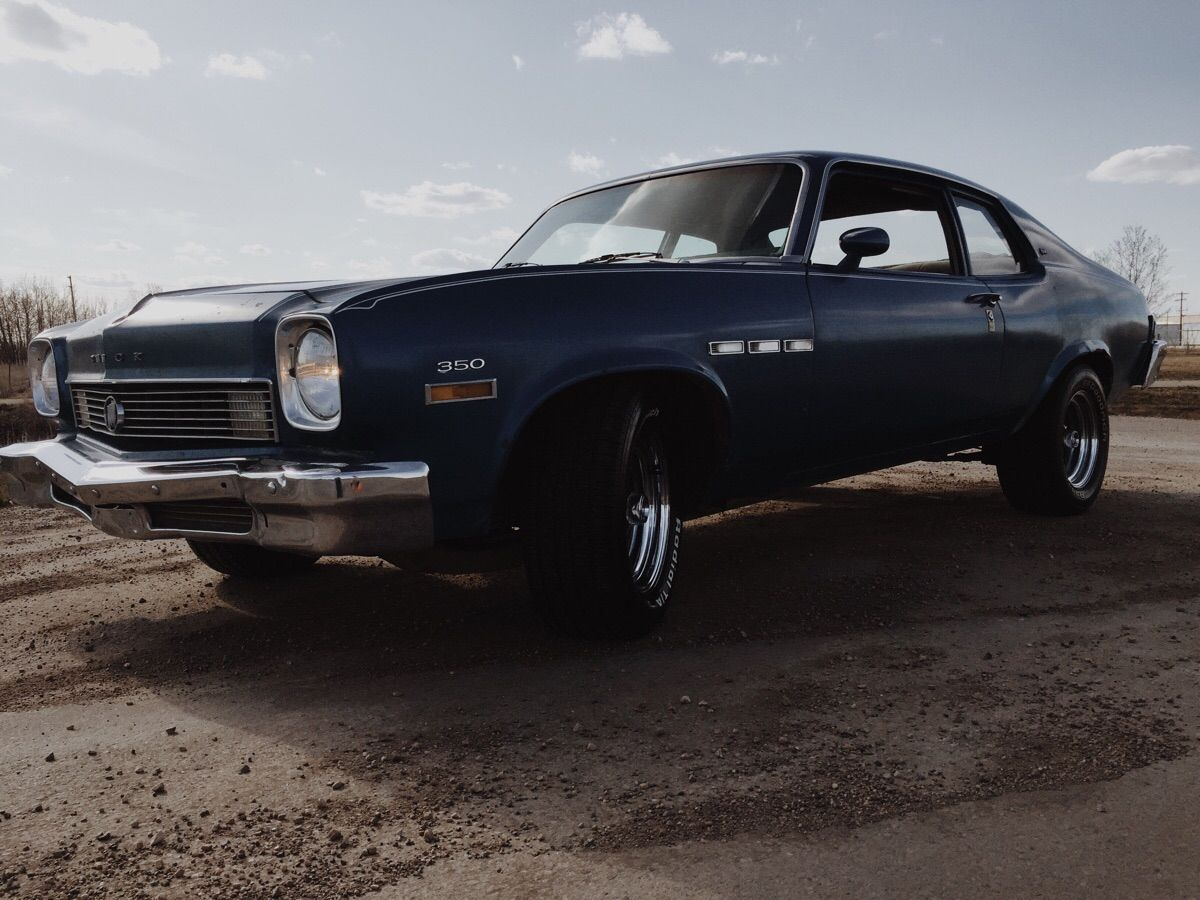 Bought my first Muscle Car a week ago. Let the fun begin. 73 Buick ...