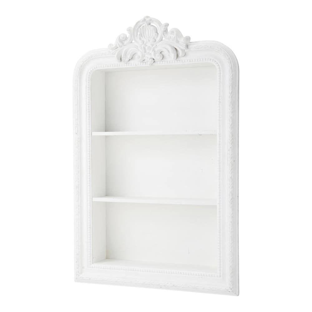 bois blanche l 79 cm romantique