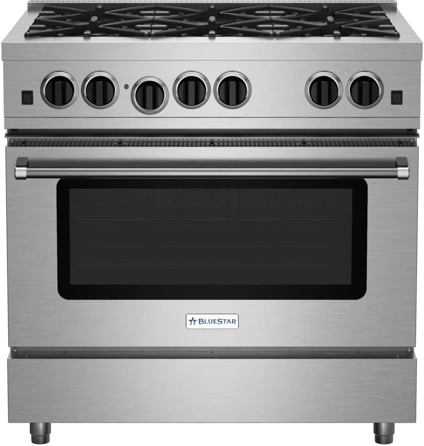 Rcs36sbv2ng By Blue Star Natural Gas Ranges Goedekers Com Large Oven Oven Racks Cookware Set