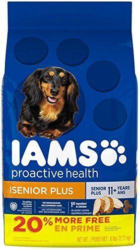 Iams Proactive Health Senior Plus Dry Dog Food 6 Pounds By Iams