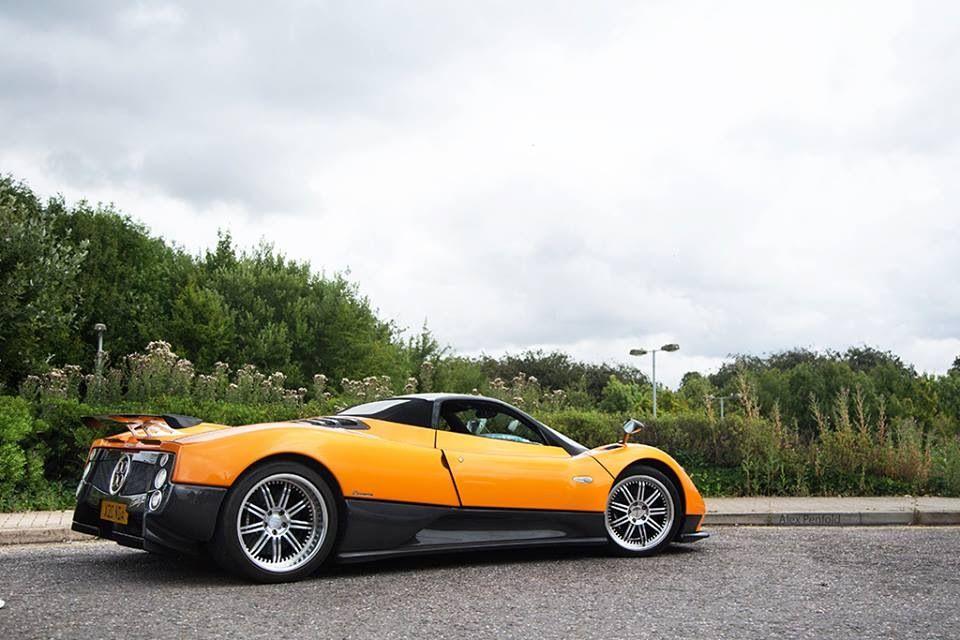 Pagani Zonda F Roadster by Alex Penfold Photography