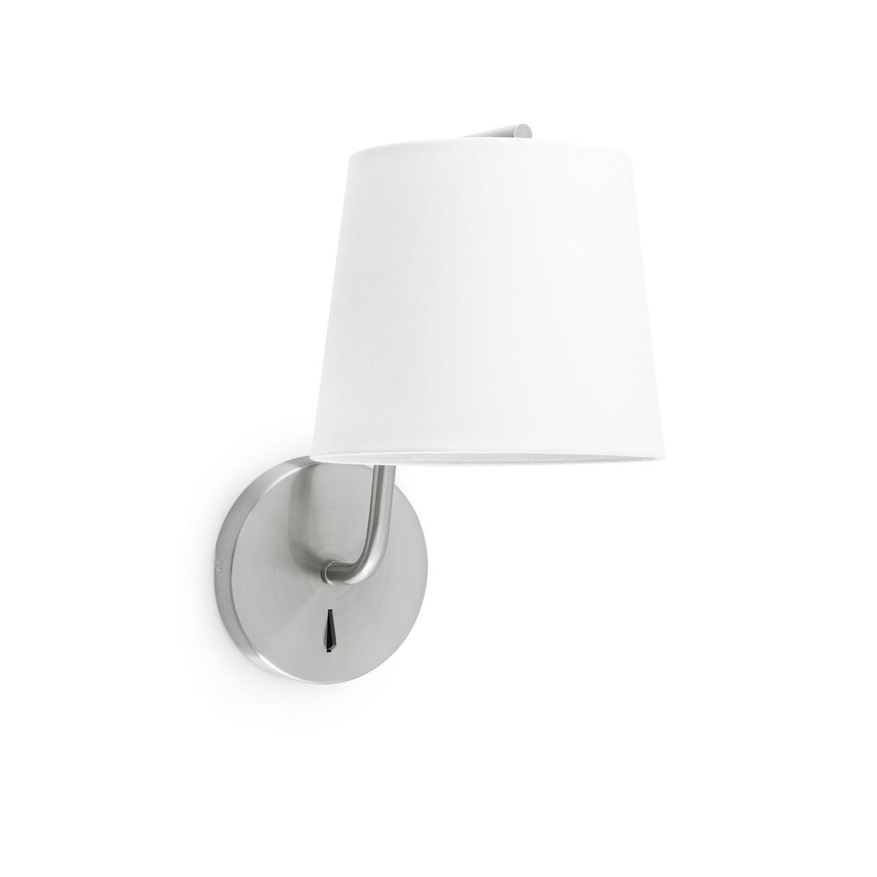 Aplique de pared blanco con interruptor #decoracion