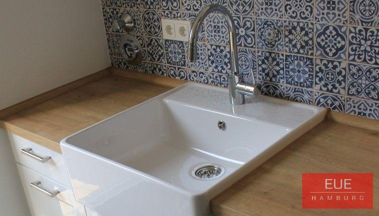 keramiksp lstein einzelbecken badezimmer mit dusche und wc ausgestattet pinterest kuchen. Black Bedroom Furniture Sets. Home Design Ideas