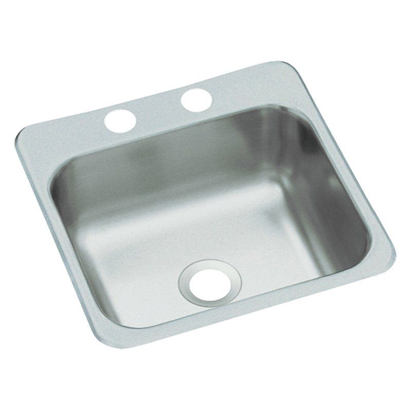 Sterling By Kohler B155 Single Basin Drop In Utility Sink B155 2 Durable Single Bowl Kitchen Sink Stainless Steel Bar Bar Sink