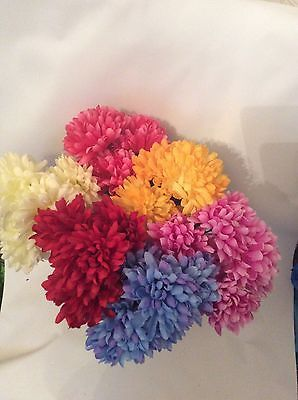 #Chrysanthemum bush #artificial #flowers crafts,  View more on the LINK: http://www.zeppy.io/product/gb/2/272413534334/