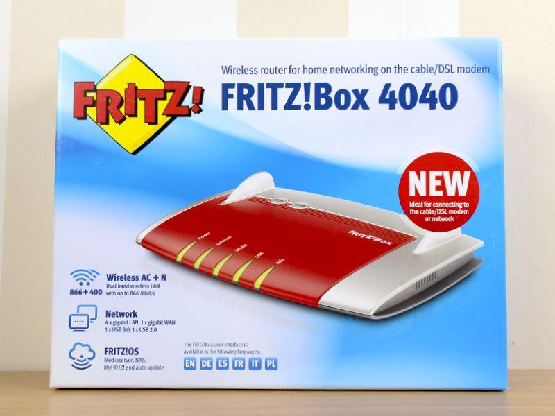 Fritz Box 4040, router WiFi ac para el hogar o la oficina