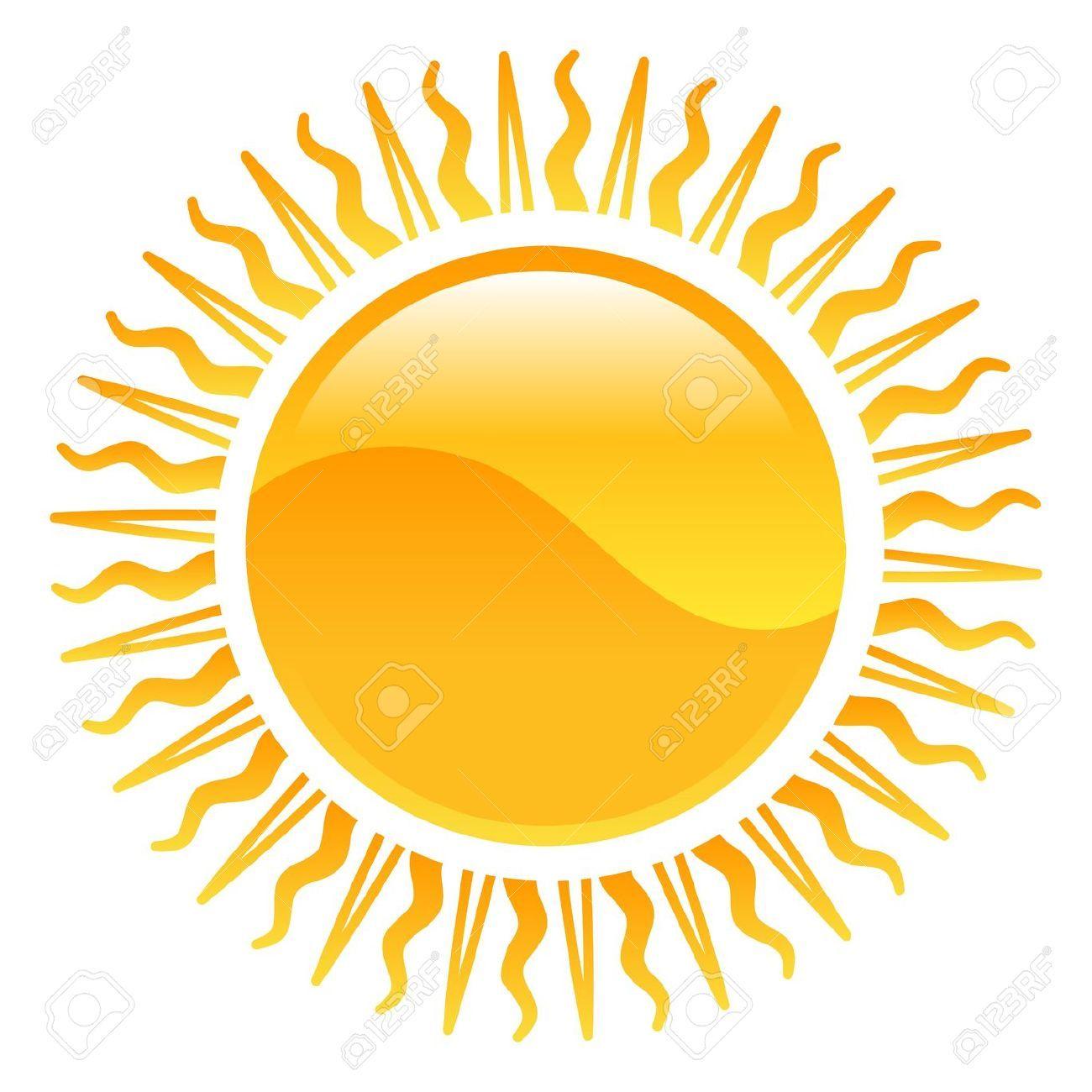 Stock Vector Sun illustration, Clip art, Weather icons