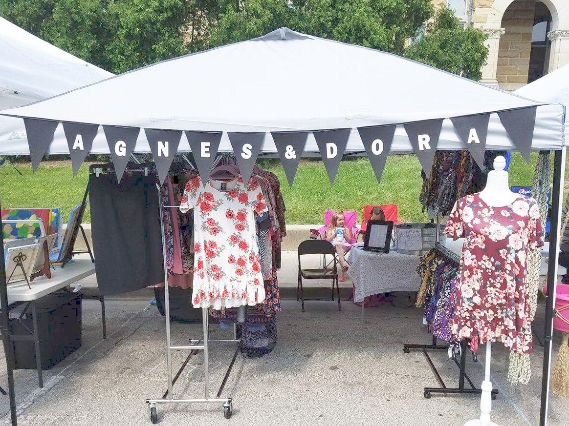 Agnes u0026 Dora. #boutique #vendorideas & Vendor Event Setup. Agnes u0026 Dora. #boutique #vendorideas   Agnes ...