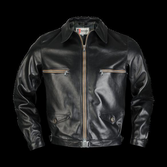 Eastman HARTMANN Jacke schwarz | Jacken, Lederjacke