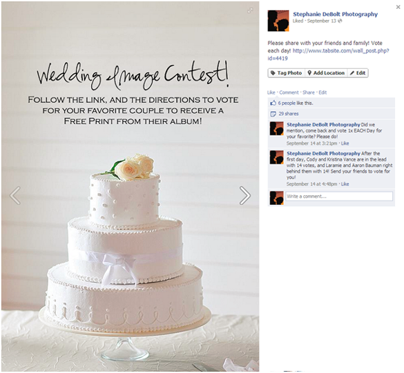 Facebook Photo Contest Case Study – Engagement and Reach Results | Tabsite Blog