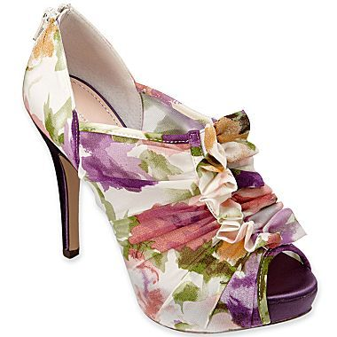 c0ade3c3e3c13 Jacqueline Ferrar® Jovana Peep-Toe Shoes - jcpenney OMG with this shoe!