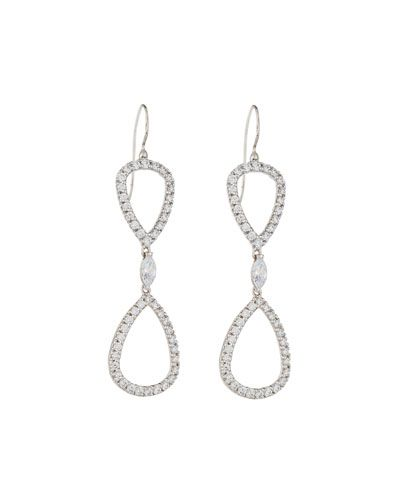 Fantasia CZ Double-Drop Earrings afeZdE8eM
