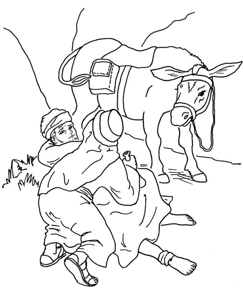 Good Samaritan Coloring Pages Coloring pages