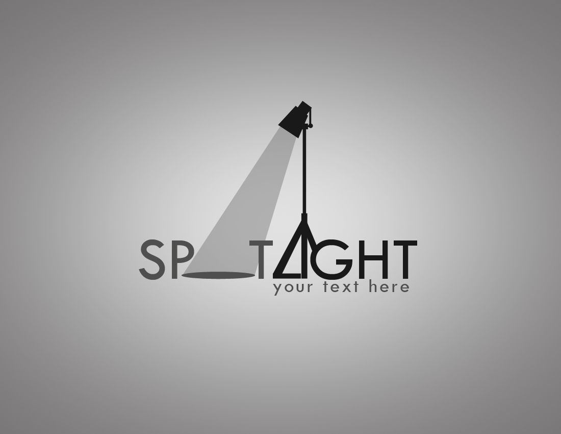 Spot Light Logo Design The Whole Thing You Do Says Something About Your Logo Design Unique Logo Design Branding Design Logo
